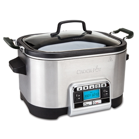CrockPot 5,6 L multifunktionell, timer